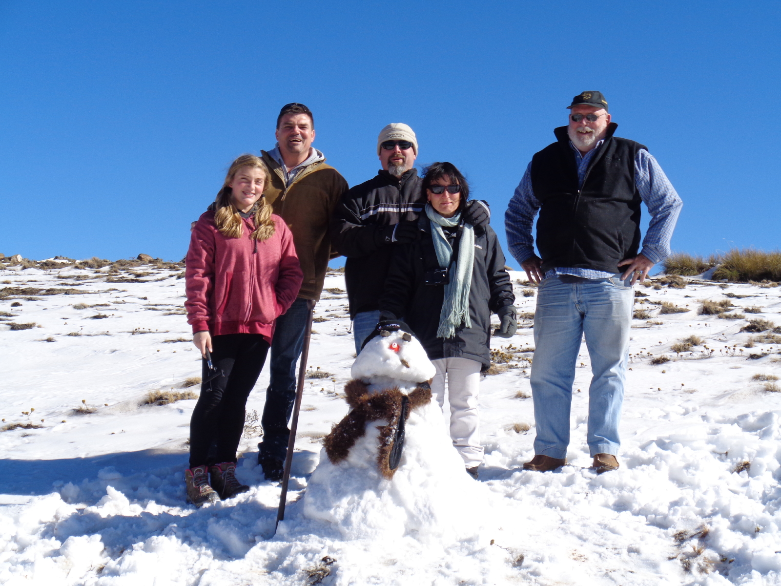 2019 Lesotho winter tour