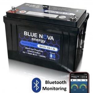 Bluenova  BN13V-104-1.3k Bluetooth Lithium Battery