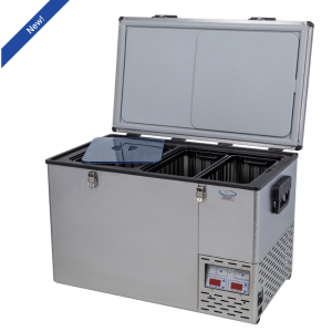 NL 90 Legacy stainless steel dual compartment