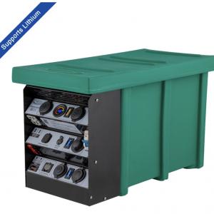 National Luna D25 Battery box